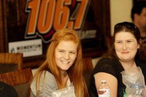 Fans at KJUG Radio Event with Brantley Gilbert (Credit: P Breski Photography)