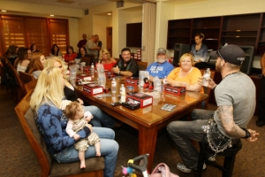 Fans at KJUG event with Brantley Gilbert