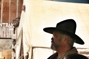 Dynamite Dick, leader of the Temecula Gunfighters